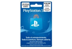 Pin Virtual POSA PLAYSTATION ($50USD)