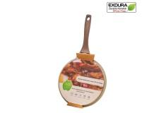 Sartén para Crepes EXDURA 26 cm Beige Apto para estufas de inducción