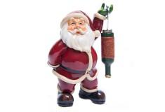 NAVIDAD Figura de Santa Claus con Destapador