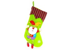 NAVIDAD Bota de Santa Claus de 20 cm