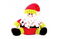 NAVIDAD Santa Claus sentado de 8 cm