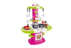 Set Luxury Kitchen Niñas Fucsia Verde