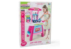 SFL Set luxury kitchen niñas rosado-azul