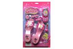 SUSANA Set Moda y belleza con zapatillas y celular