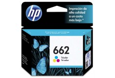 Cartucho de tinta HP 662 Tricolor Original CZ104AL