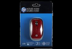 Mouse HP óptico USB Rojo