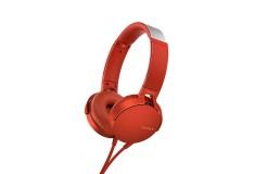Audífonos SONY Alámbrico OnEar ML XB550 Rojo