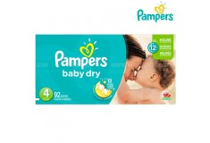 Pañal PAMPERS - Baby Dry - Etapa 4 - Caja x 92