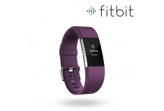 FITBIT Charge 2 Plum-Silver S