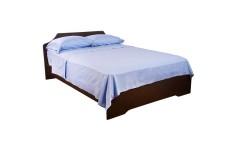 Semijuego de cama K-LINE Sencillo Ajustable Azul 144 hilos