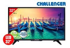 "Tv 32"" 80cm LED CHALLENGER 32T15HD T2"