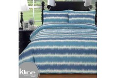 Edredón K-LINE Doble Líneas Azules 144 Hilos Algodón 100%
