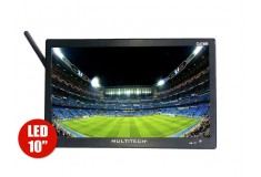 "TV Portátil TDT 10"" 25cm MULTITECH PTV10T2 HD"