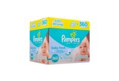Toallas Húmedas PAMPERS Baby Fresh 360 unidades