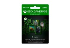 Pin Virtual XBOX Game Pass 1 Mes