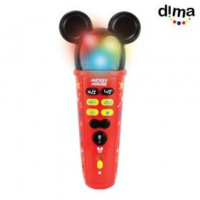 Micrófono mickey mouse rock star