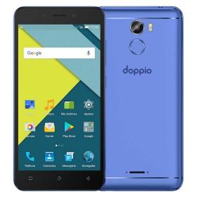 Celular Libre DOPPIO Fortune DS Azul 4G