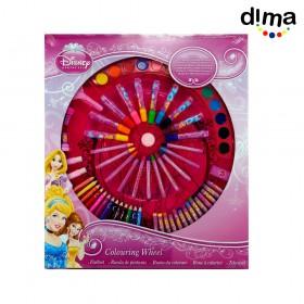 Estuche rueda de colores princesas