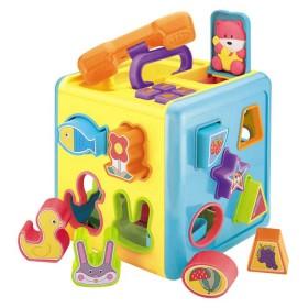 REDBOX Cubos Didácticos Busy Play Puzzle