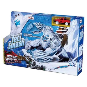 MAISTO Fresh Pista de carros metal playsed yeti smash
