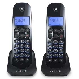 Teléfono Inalámbrico MOTOROLA M750-2 CA Negro