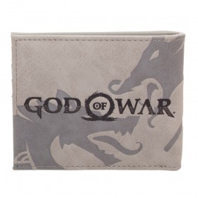 Billetera GOD OF WAR Gris Impreso