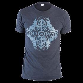 Camiseta GOD OF WAR Azul Talla S