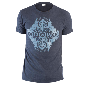 Camiseta GOD OF WAR Azul Talla L