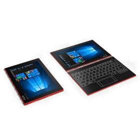 "Convertible 2 en 1 LENOVO - YOGA BOOK - Intel Atom -  10.1"" Pulgadas - Disco Duro 128Gb - Rojo"