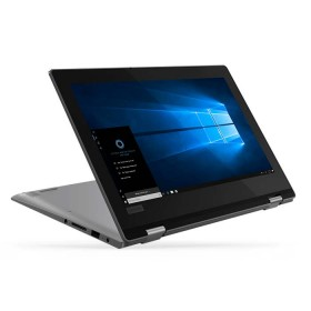 "Convertible 2 en 1 LENOVO - YOGA330-11IGM - Intel Celeron - 11.6"" Pulgadas - Disco Duro 64Gb - Gris"