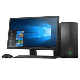 "Computador de Escritorio HP - 690-000bla - AMD Ryzen 3 - 24"" Pulgadas - Disco Duro 1Tb - Negro"