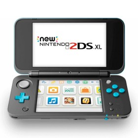 NEW NINTENDO 2DS XL Negra + Turquesa-1