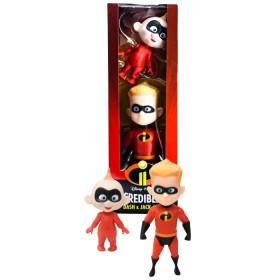 DISNEY Packde Figuras de Dash & Jack-Jack