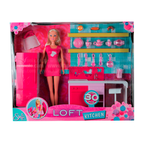 Muñeca Steffi Love Loft Kitchen