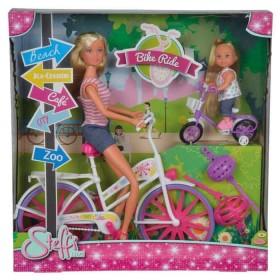 STEFFI LOVE Muñeca Bike Ride