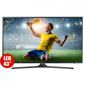 "TV 43"" 108cm SAMSUNG LED 43MU6103 UHD Internet"