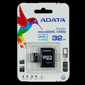 Memoria ADATA Micro SD HC 32GB Negro