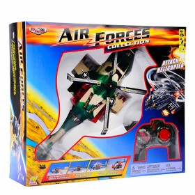 GOLDLOK Air Forces Collection: Helicóptero de ataque control remoto