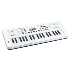 L & P piano electrónico blanco