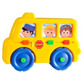 INFUNBEBE Juguete bus musical para niños
