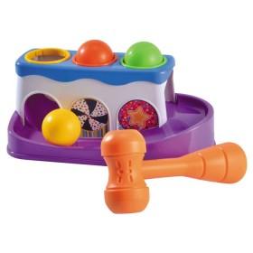 Set didáctico de bolas y Martillo juego para niños