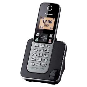 Teléfono Inalámbrico PANASONIC KX-TGC350LAS Negro