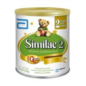 Alimento Lácteo SIMILAC 2 a partir de 6 meses 850g