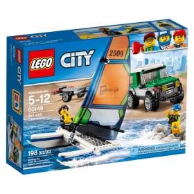 LEGO City 4x4 con catamarán