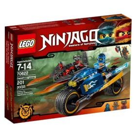 LEGO Ninjago masters relámpago del desierto