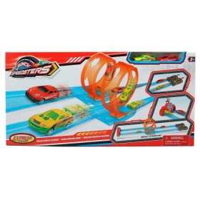 EXPRESS WHEELS Playset Pista de lanzamiento launch speedsters azul y rojo