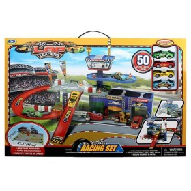 EXPRESS WHEELS Playset lap leaders Racing set taller y pista de autos