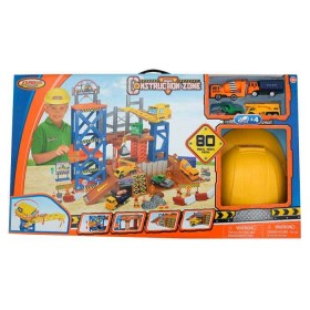 EXPRESS WHEELS Playset Zona de Construcción