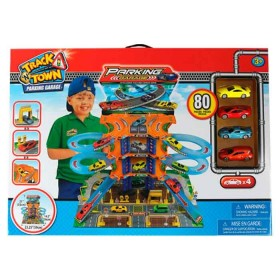 EXPRESS WHEELS Playset Track N' Town Parking garage