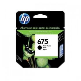 Cartucho HP 675 Negro